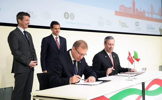 Firman México y Dinamarca Colaboración en Salud y Energía